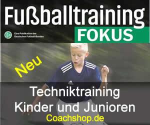 Fußballtraining Fokus - Techniktraining