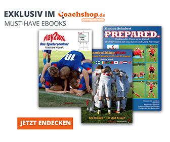 Ebooks fürs Fußballtraining